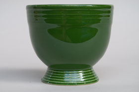 Vintage Fiesta Forest Green Egg Cup  Fiestaware Pottery Vase: Gift, Rare, Hard to Find, Buy Onlline Now, American Antique Pottery