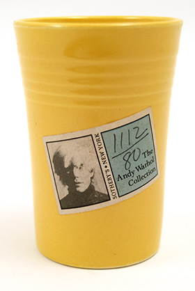Vintage Fiestaware Yellow Water Tumbler: Fiesta Dinnerware 30s 40s 50s 60s For Sale