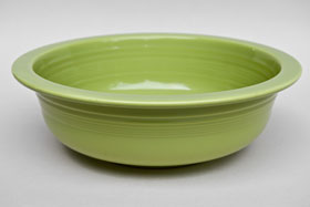 Vintage Fiesta 50s Chartreuse Nappy Vegetable Serving Bowl  Fiestaware Pottery Vase: Gift, Rare, Hard to Find, Buy Onlline Now, American Antique Pottery