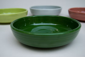 50s Fiestaware Forest Green 50s Colors Vintage Fiestaware Dessert Bowl For Sale