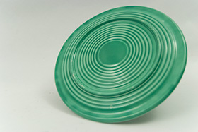 Original Light GreenVintage Fiesta Cake Plate Fiestaware For Sale Old Authentic