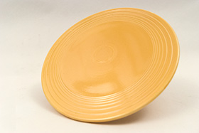 Original Yellow Vintage Fiesta Cake Plate Fiestaware For Sale Old Authentic