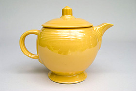 Fiesta Pottery For Sale Vintage Fiestaware Yellow Original Medium Size Teapot