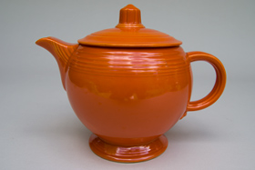 Fiesta Pottery For Sale Vintage Fiestaware Red Original Medium Size Teapot