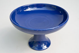 Fiestaware Vintage Cobalt Blue Sweets Comport FIesta Pottery For Sale