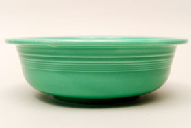 Vintage Fiesta Original Green Nappy Vegetable Serving Bowl  Fiestaware Pottery Vase: Gift, Rare, Hard to Find, Buy Onlline Now, American Antique Pottery