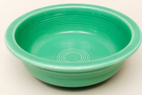 Vintage Fiesta Original Green Nappy Vegetable Serving Bowl  Fiestaware Pottery Vase: Gift, Rare, Hard to Find, Buy Online Now, American Antique Pottery