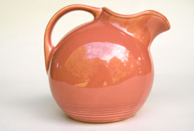 Harlequin Service Water Pitcher: Gift, Rare, Hard to Find, Buy Onlline Now, American Antique Pottery