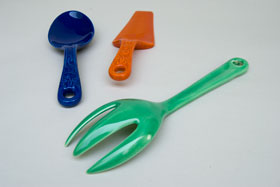 Original Green Kitchen Kraft  Fork: GoAlong Fiestaware Pottery For Sale