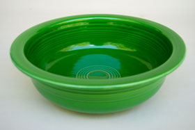 Medium Green Fiesta For Sale: Vintage Fiestaware Nappy Bowl
