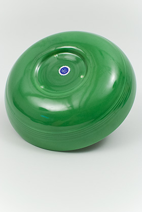 Harlequin Medium Green Individual Salad Bowl