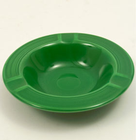 Medium Green Fiesta Ashtray