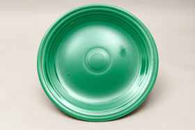 Vintage Fiesta Light Green 10 Inch Plate  Fiestaware Pottery Vase: Gift, Rare, Hard to Find, Buy Onlline Now, American Antique Pottery