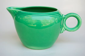 Vintage Fiestaware Green 2 Pint Jug For Sale: Antique Fiesta Pottery  Americana Dinnerware Art Deco 30s 40s