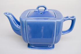 Riviera Pottery Original Mauve Teapot For Sale