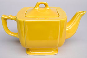 Riviera Pottery Original Yellow Teapot For Sale