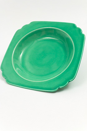 Original Green Riviera Deep Plate