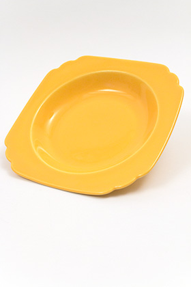 Original Yellow Riviera Deep Plate