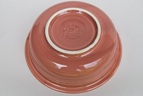 Vintage Fiesta Original Rose Nappy Vegetable Serving Bowl  Fiestaware Pottery Vase: Gift, Rare, Hard to Find, Buy Onlline Now, American Antique Pottery