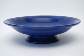 Original Cobalt Blue Fiestaware 12 Inch Footed Comport