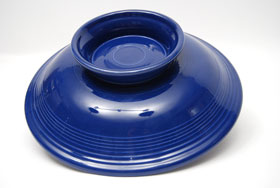 Original Cobalt Fiestaware 12 Inch Footed Comport