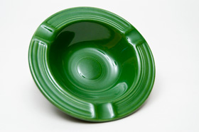 Forest Green Vintage Fiesta Ashtray 50s Colors Fiestaware
