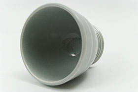 Vintage Fiesta Gray Egg Cup  Fiestaware Pottery Vase: Gift, Rare, Hard to Find, Buy Onlline Now, American Antique Pottery