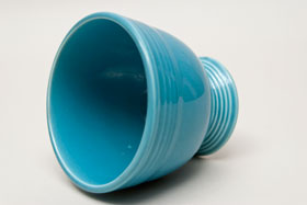 Turquoise Vintage Fiesta Egg Cup Fiestaware Pottery For Sale