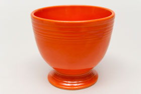 Radioactive Red Vintage Fiesta Egg Cup Fiestaware Pottery For Sale