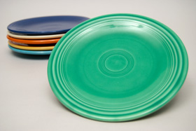 Vintage Fiestaware Plate in Original Green