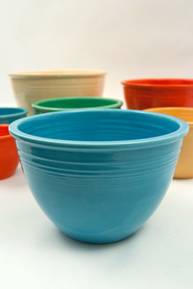 Fiesta No. 5 Turquoise Bowl For Sale