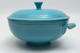 Turquoise Fiesta Covered Casserole