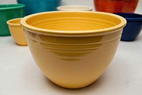 Fiesta No. 5 Yellow Bowl For Sale