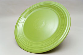 Vintage Fiesta Chartreuse 10 inch Dinner Plate  Fiestaware Pottery Vase: Gift, Rare, Hard to Find, Buy Onlline Now, American Antique Pottery
