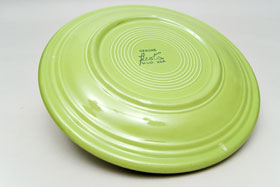 Vintage Fiesta Chartreuse 9 Inch Plate  Fiestaware Pottery Vase: Gift, Rare, Hard to Find, Buy Onlline Now, American Antique Pottery