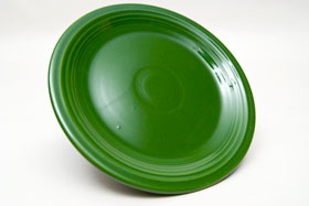 Vintage Fiesta Forest Green 7 Inch Plate  Fiestaware Pottery Vase: Gift, Rare, Hard to Find, Buy Onlline Now, American Antique Pottery