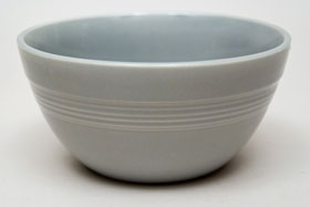 Gray Vintage Harlequin 36s Bowl 30s 40s Homer Laughlin American Dinnerware Solid Color Mix-n-Match