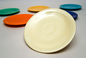 Vintage Fiesatware Plates Set of 6 Bread and Butter Original Colors