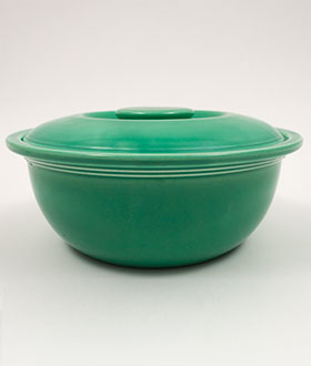 Original Green Fiesta Kitchen Kraft Casserole Large Version