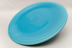 Vintage FIesta Chop Plates For Sale