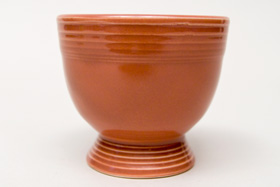 Vintage Fiesta Rose Egg Cup  Fiestaware Pottery Vase: Gift, Rare, Hard to Find, Buy Onlline Now, American Antique Pottery