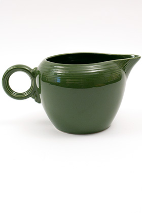 Vintage Fiestaware 50s Forest Green 2 Pint Jug For Sale: Antique Fiesta Pottery  Americana Dinnerware Art Deco 30s 40s
