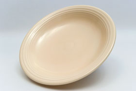 Original Ivory Fiestaware 12 Inch Footed Comport