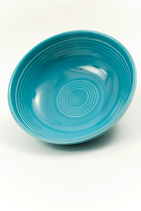 Turquoise Vintage Fiestaware Turquoise Fiesta Pottery For