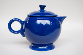 Vintage  Fiesta Large Cobalt Teapot For Sale: Fiestaware Pottery Online Buy Now Gift