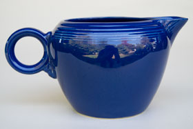 Vintage Fiestaware Cobalt 2 Pint Jug For Sale: Antique Fiesta Pottery  Americana Dinnerware Art Deco 30s 40s