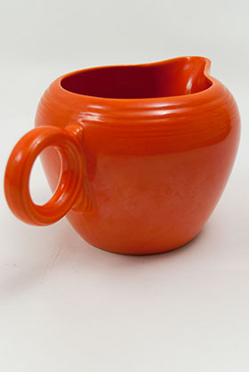 Vintage Fiestaware Original Red 2 Pint Jug For Sale: Antique Fiesta Pottery  Americana Dinnerware Art Deco 30s 40s