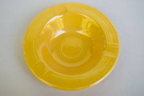 Yellow Vintage Fiestaware Ashtray