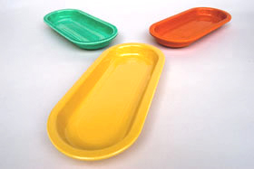 Original Yellow Fiestaware Utility Tray