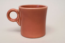 Vintage Fiestaware Rose Tom and Jerry Mug: Fiesta Dinnerware 30s 40s 50s 60s For Sale